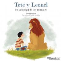Tete y Leonel en la huelga de los animales